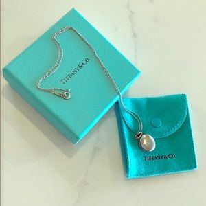 Tiffany & Co. Sterling Silver Locket Necklace